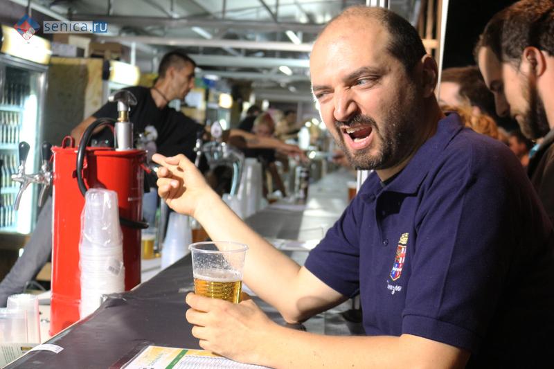 Senica.ru на открытии Beer Garden в Белграде