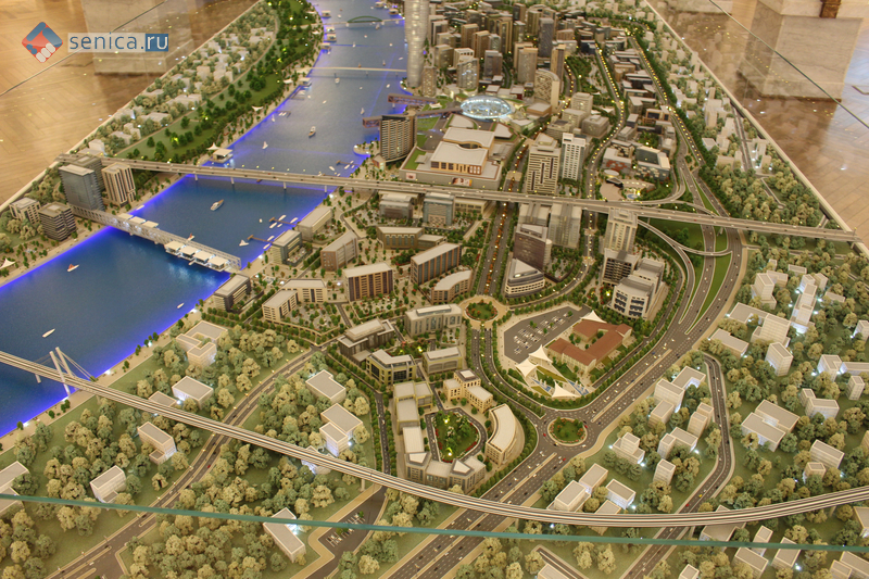 Макет проекта «Белград на воде»