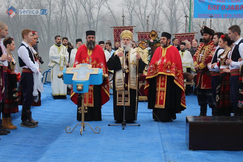 Патриарх сербский Ириней даёт своё благославление