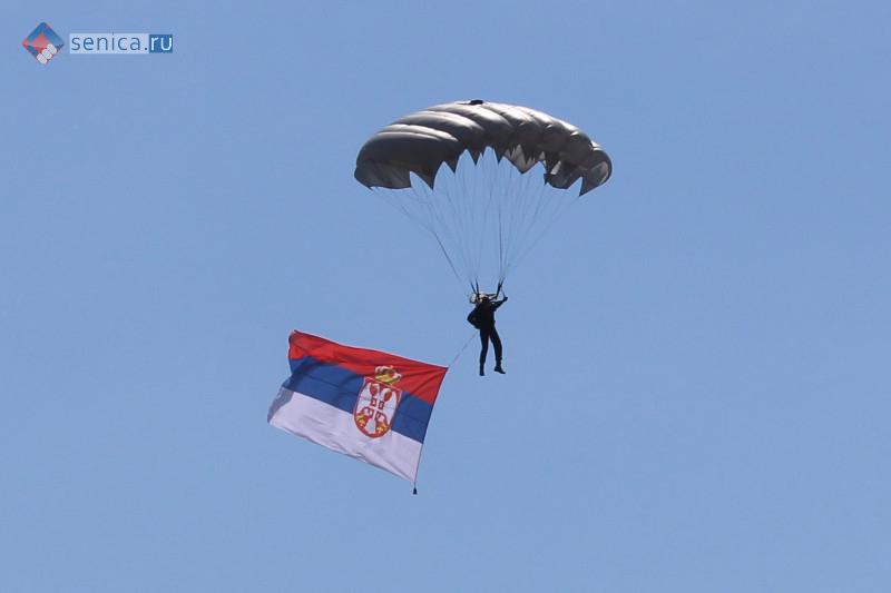 Сербский десантник