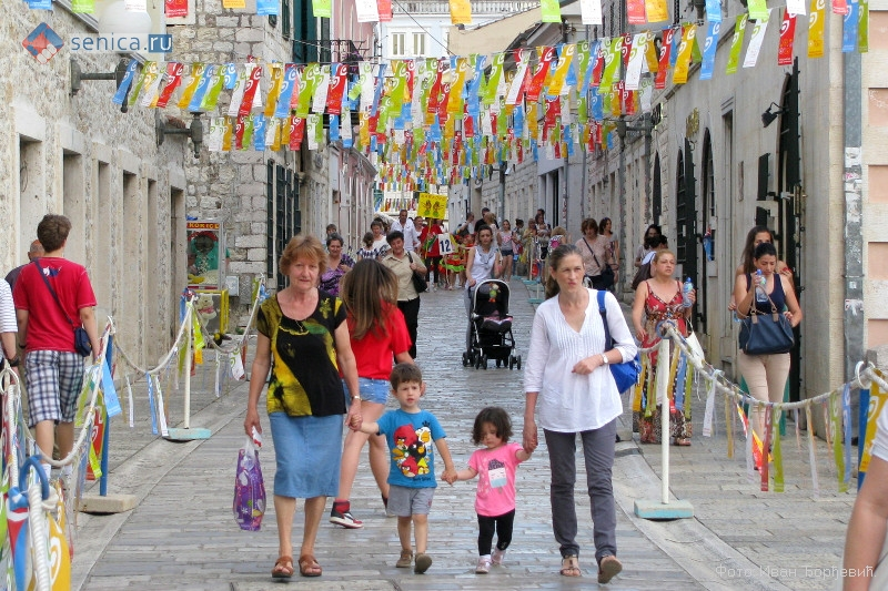 IX Международный детский карнавал в Херцег-Нови в Черногории