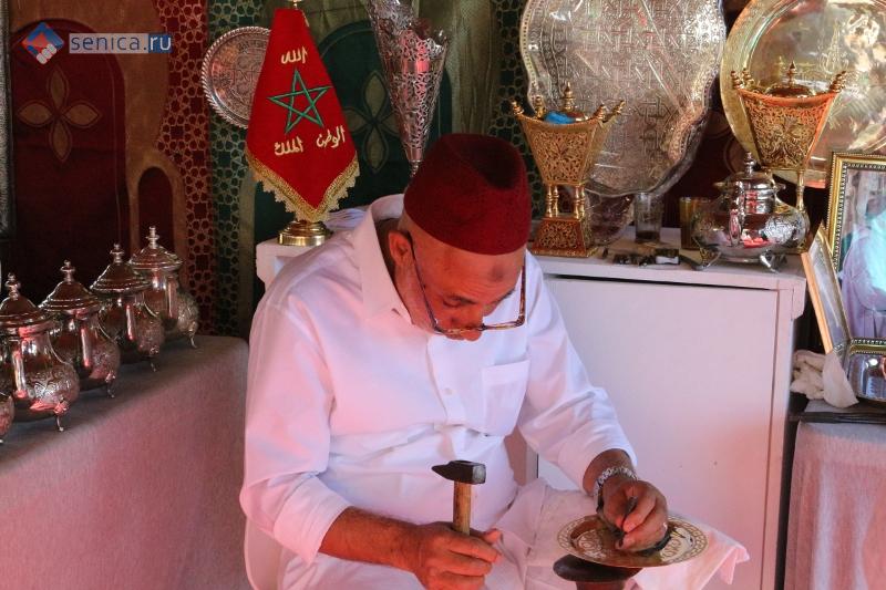 Марокканский ремесленник