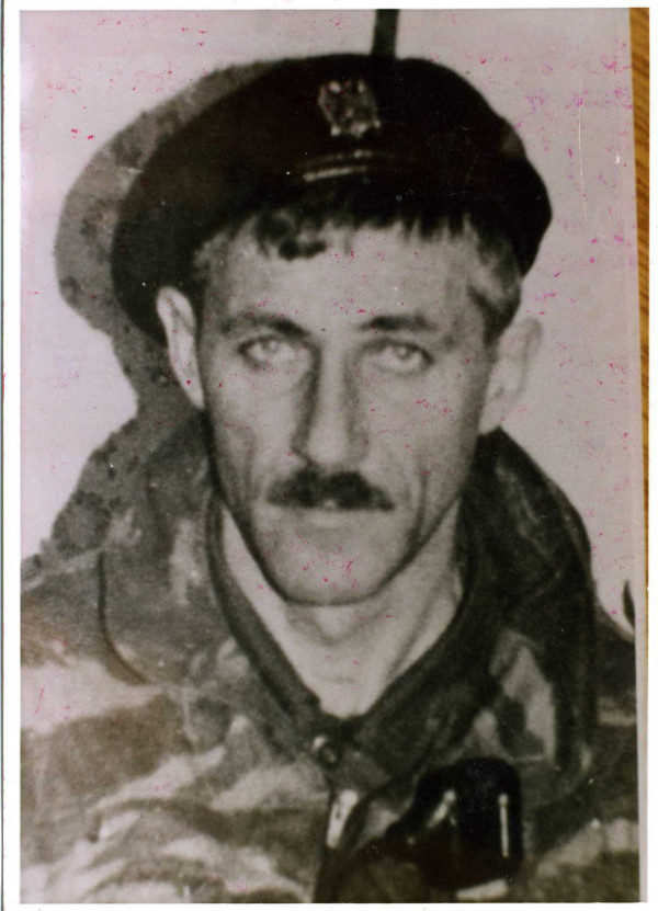 Командир «3-го русского добровольческого отряда» в Сараево Александр Шкрабов