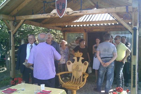 Встреча русских добровольцев в доме-музее полковника Раде Раича в Белграде