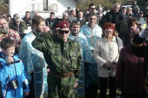 Бывший русский доброволец в Армии Республике Сербской Сергей Сухарев
