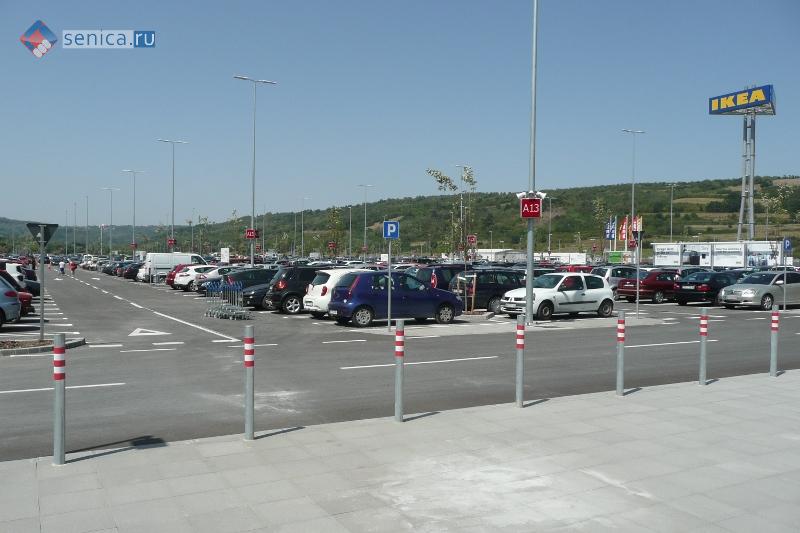 Парковка IKEA