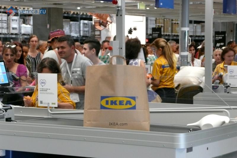 Фирменный пакет IKEA