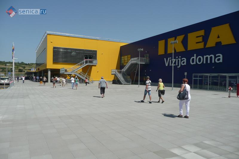 Первый день в IKEA