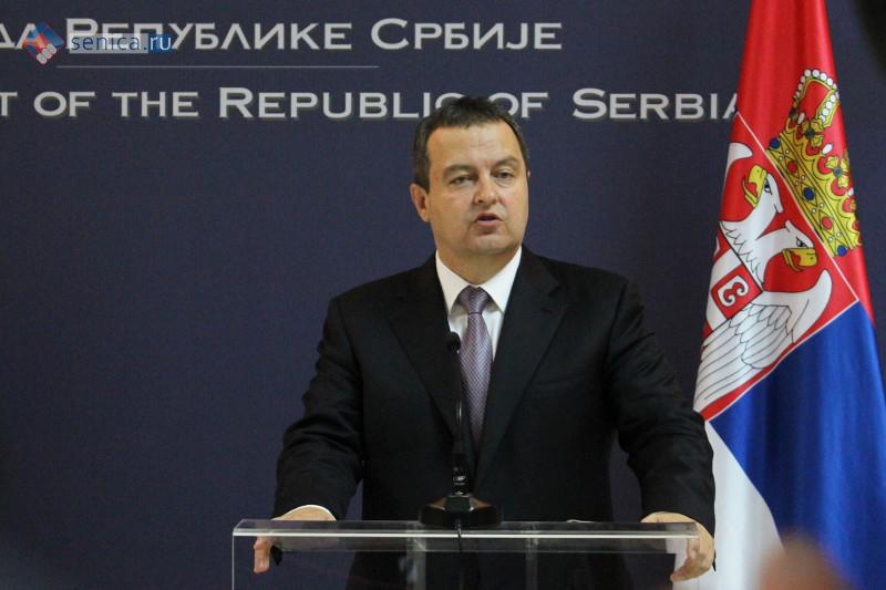 Ивица Дачич высказался об опасности идеи Великой Албании