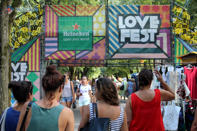 Фестиваль LoveFest в Врнячка-Бане