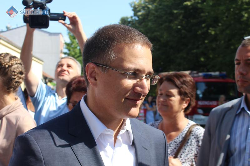 Министр внутренних дел Сербии Небойша Стефанович