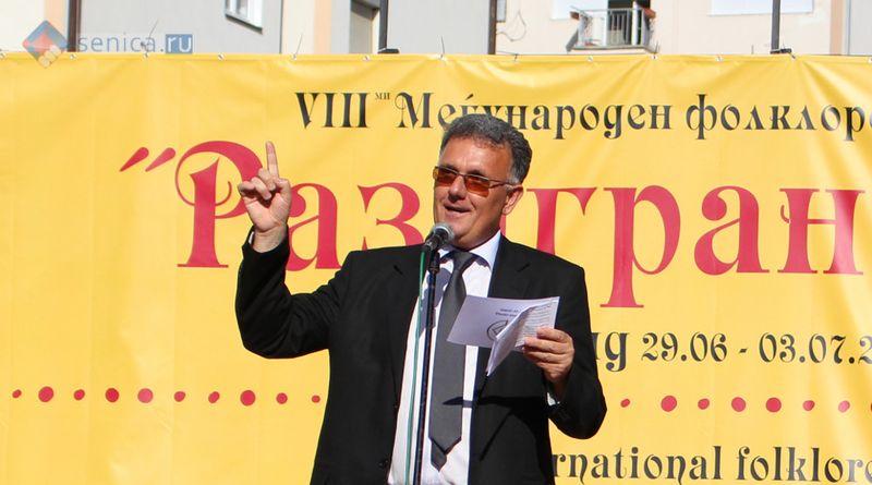 Представитель мэрии Охрида Ангел Янев