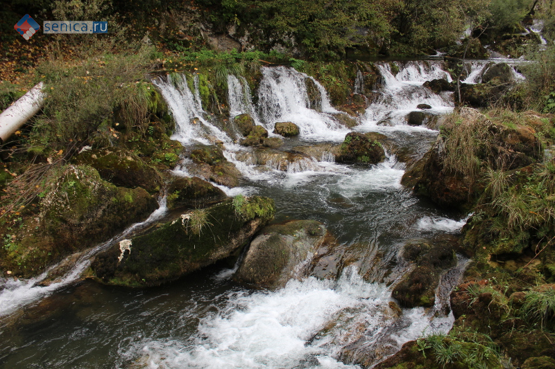 Водопады реки Крупа