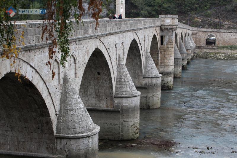 Мост на Дрине в Вишеграде
