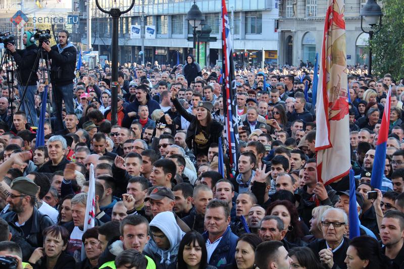 Сербия, Шешель, Белград, митинг, новости, Сеница.ру