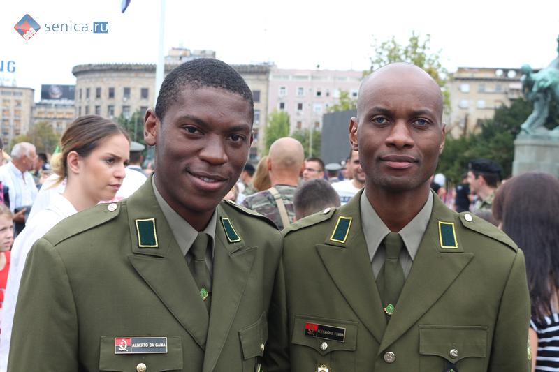 Выпуск младших офицеров. Ангола