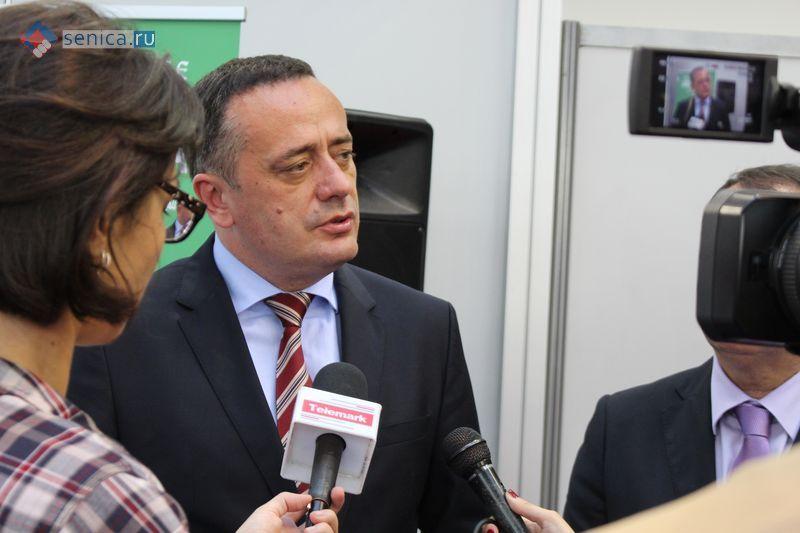 Министр энергетики Сербии Александр Антич
