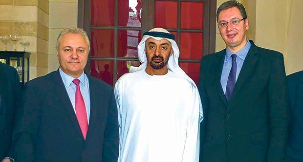 Арабские шейхи становятся спонсорами Црвены Звезды