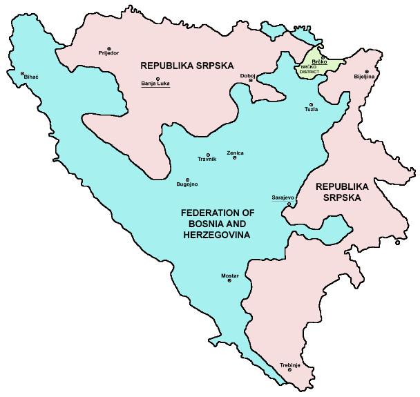 Этнический состав боснии и герцеговины