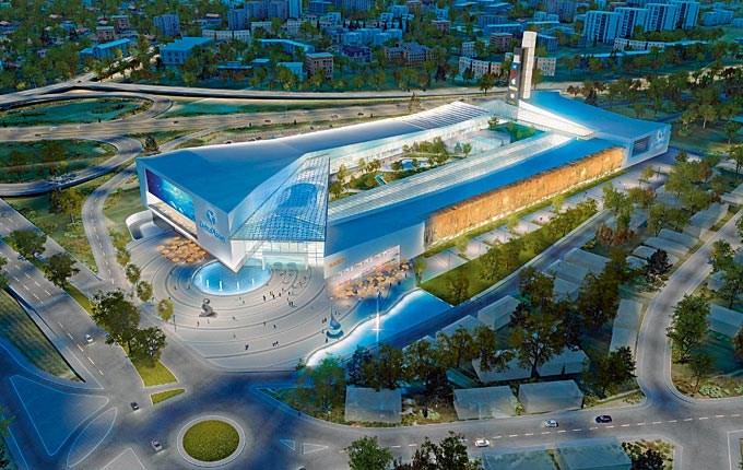 Торговый комплекс Delta Planet в Белграде