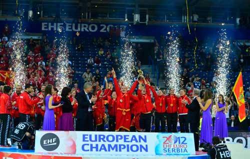Черногория стала европейским чемпионом по гандболу среди женщин