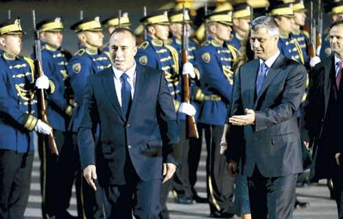 Харадинай планирует стать премьером Косово уже в январе