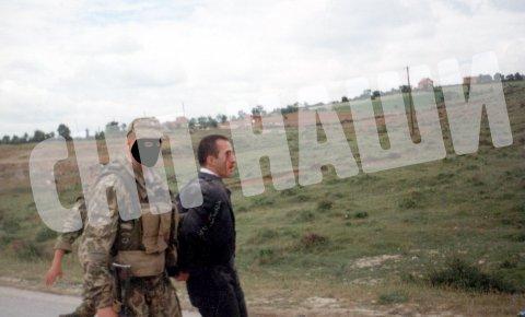 Российский миротворец избил Харадиная