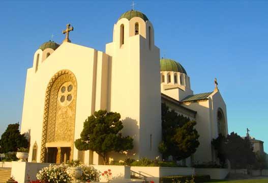 Собор Святой Софии в Лос-Анджелесе