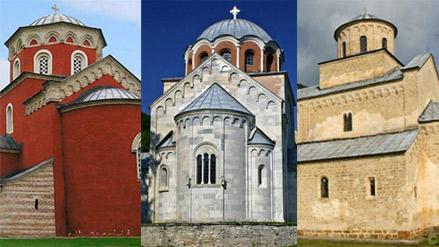 Монастыри Центральной Сербии