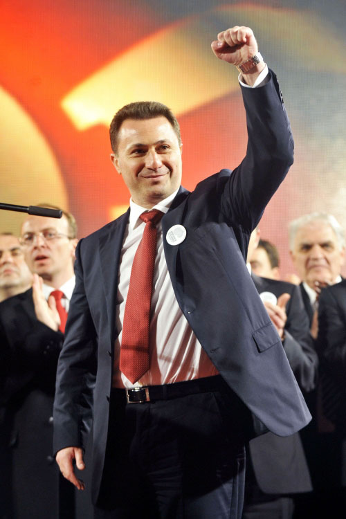 Опальный сербский олигарх Мишкович подкупал премьера Македонии Николу Груевского