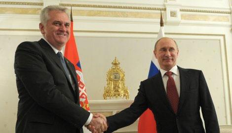 Николич в пятницу в Сочи встретится с Путиным