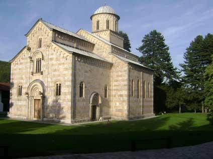 Монастырь Дечани