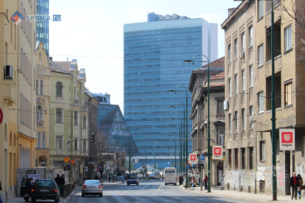 Здание дружбы Греции и Боснии, Сараево