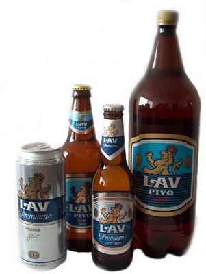Сербское пиво Лав (Lav)