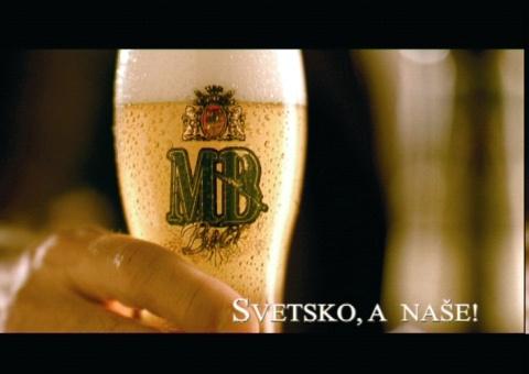 Сербское пиво MB