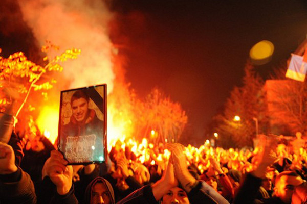 Протесты в Белграде, Марко Ивкович