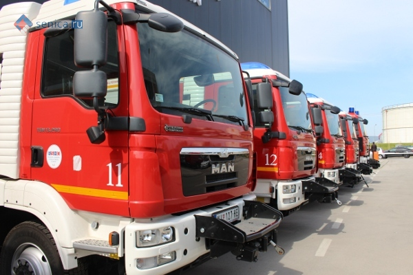 Пожарные машины РСГЦ