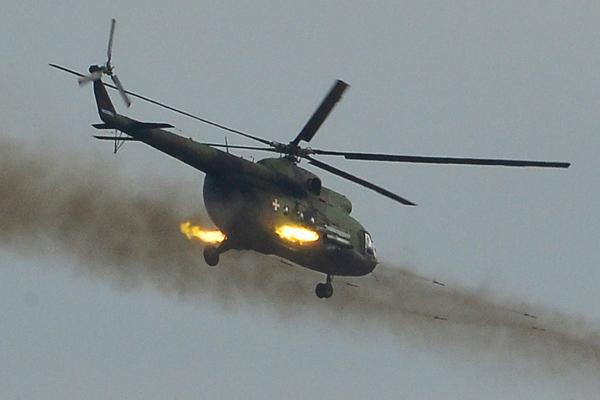 Вертолёт ВВС Сербии