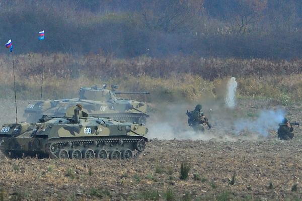 Русско-сербские военные учения