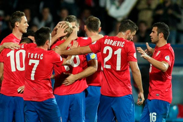 Сербия футбол
