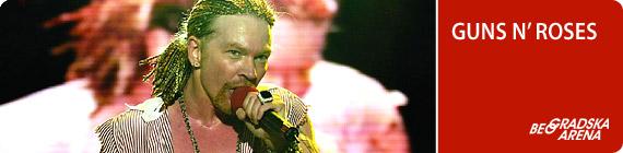 Концерт Guns'n'Roses в Белграде