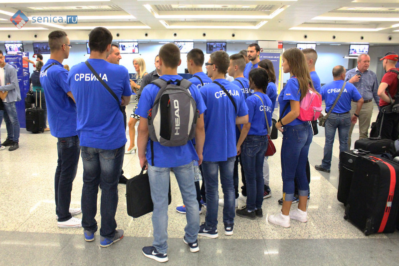 Сбор в аэропорту Белграда