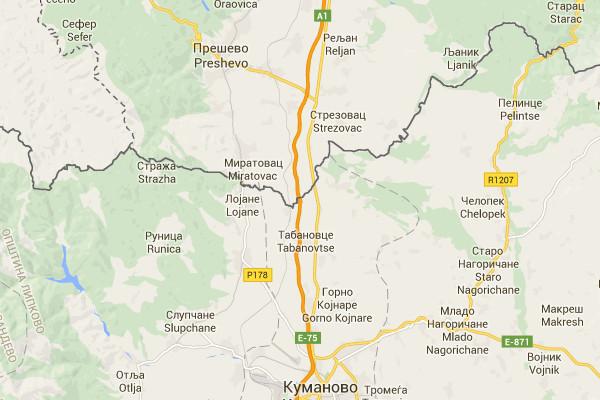 Сербско-македонская граница