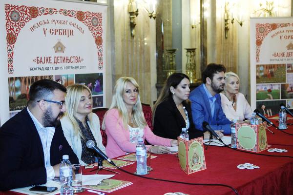 Пресс-конференция «Сказки детства»