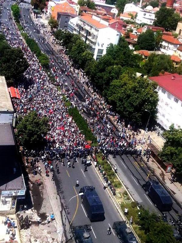Македония, Скопье, митинги протеста, албанцы, новости, Сеница.ру