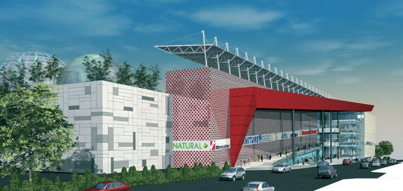 Торговый центр Stadion, Белград
