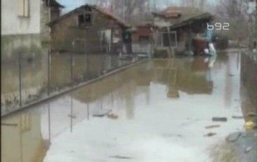 Наводнение на юге Сербии