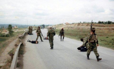 Задержание албанских боевиков в Косово российскими миротворцами
